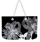 Looking Right Through Me Weekender Tote Bag