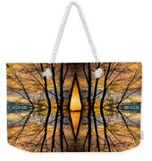Looking Through The Trees Abstract Fine Art Weekender Tote Bag