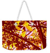 Looking Through Tree Leaves 2 Weekender Tote Bag