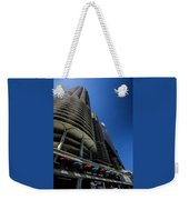 Looking Up At Chicago's Marina Towers Weekender Tote Bag
