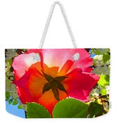 Looking Up At Rose And Tree Weekender Tote Bag