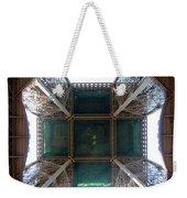 Looking Up Eiffel Tower Weekender Tote Bag