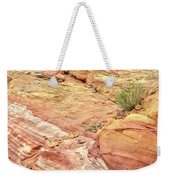 Looking Up From Wash 3 In Valley Of Fire Weekender Tote Bag