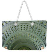 Looking Up In Union Station -- A Westward View Weekender Tote Bag