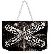 Lookout For The Locomotive Weekender Tote Bag