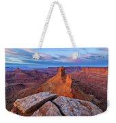 Lookout Point Sunrise Weekender Tote Bag