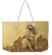 Lookouts Weekender Tote Bag by James W Johnson