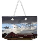 Looming Storm In Sumas Washington Weekender Tote Bag
