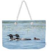 Loon Family Weekender Tote Bag