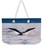 Loon Take Off Aborted Weekender Tote Bag