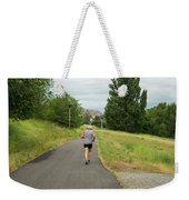Loop Trail Runner Weekender Tote Bag