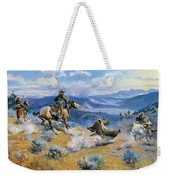 Loops And Swift Horses Are Surer Than Lead Weekender Tote Bag