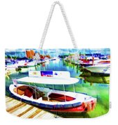 Loose Cannon Water Taxi 1 Weekender Tote Bag by Lanjee Chee