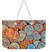 Loose Change Weekender Tote Bag