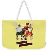 Loose Talk Can Cost Lives - World War Two Weekender Tote Bag