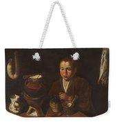 Lopez Caro, Francisco 1598, 1661 Kitchen Boy Ca. 1620 Weekender Tote Bag