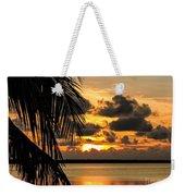 Lopez Point Sunset Weekender Tote Bag