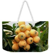 Loquat Exotic Tropical Fruit 4 Weekender Tote Bag