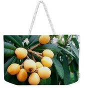 Loquats In The Tree 3 Weekender Tote Bag