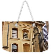 Lord Clarendon's Statue, Clarendon Building, Oxford Weekender Tote Bag
