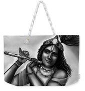 Lord Krishna Weekender Tote Bag