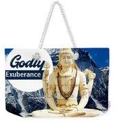 Lord Shiva Weekender Tote Bag