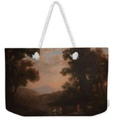 Lorena, Claudio De Chamagne, 1600 - Roma, 1682 Ford Of A River Ca. 1636 Weekender Tote Bag