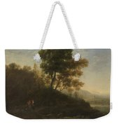 Lorena, Claudio De Chamagne, 1600 - Roma, 1682 Setting Out With The Herd 1636 - 1637 Weekender Tote Bag