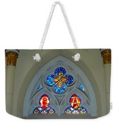 Loretto Chapel Stained Glass Weekender Tote Bag