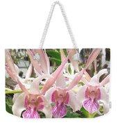 Lorie Mortimer Dendrobium Weekender Tote Bag