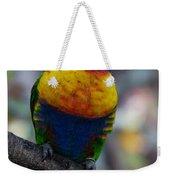 Lorikeet Parrot  Weekender Tote Bag