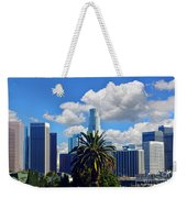 Los Angeles And Palm Trees Weekender Tote Bag