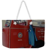 Los Angeles Fire Department Weekender Tote Bag