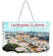 Los Angeles Highway To Heaven Weekender Tote Bag