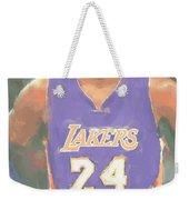 Los Angeles Lakers Kobe Bryant 2 Weekender Tote Bag