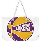Los Angeles Lakers Retro Shirt Weekender Tote Bag