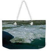 Los Angeles, Radar Image Weekender Tote Bag by NASA / Science Source