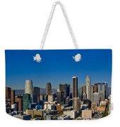 Los Angeles Skyline Weekender Tote Bag
