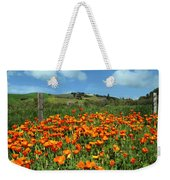 Los Olivos Poppies Weekender Tote Bag