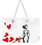 Lose  Your Heart Weekender Tote Bag