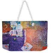 Losing My Marbles Weekender Tote Bag
