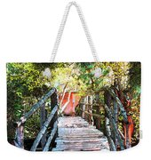 Lost Bridge Weekender Tote Bag