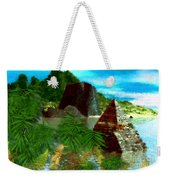 Lost City Weekender Tote Bag