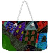 Lost Dog Weekender Tote Bag