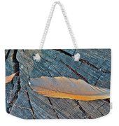 Lost Feather Weekender Tote Bag