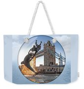 Lost In A Daydream - Floating On The Thames Weekender Tote Bag