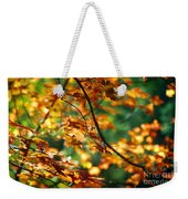Lost In Leaves Weekender Tote Bag