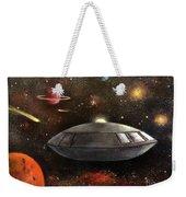 Lost In Space Weekender Tote Bag