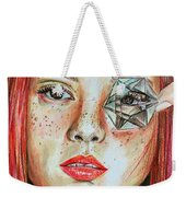 Lost In Thoughts Weekender Tote Bag