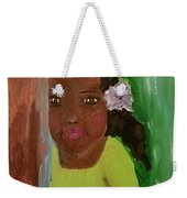 Lucky Lucy Weekender Tote Bag